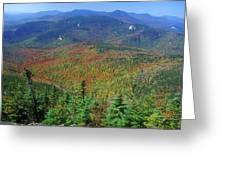 Mount Chocorua Foliage Greeting Card