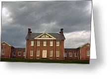 Mount Clare Mansion Greeting Card