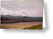 Mount Denali Greeting Card