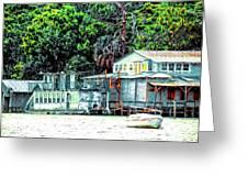 Mount Dora Lakeside Greeting Card