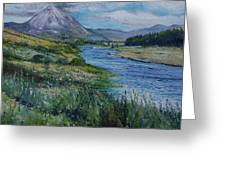 Mount Errigal Co. Donegal Ireland. 2016 Greeting Card
