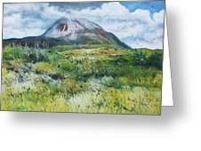 Mount Errigal County Donegal Ireland 2016 Greeting Card