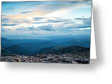 Mount Evans Greeting Card