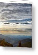 Mount Evans Painterly 1 Greeting Card