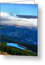 Mount Evans Painterly 2  Greeting Card