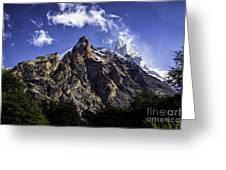 Mount Fitz Roy 3 Greeting Card