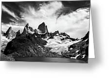 Mount Fitz Roy Greeting Card