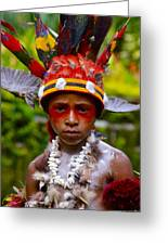 Mount Hagen Papua New Guinea Aog 19 Greeting Card