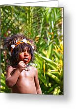 Mount Hagen Papua New Guinea Aog 91 Greeting Card