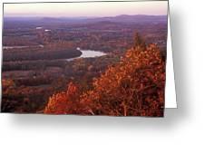 Mount Holyoke Foliage Greeting Card