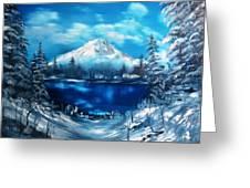 Mount Hood - Opus 2 Greeting Card