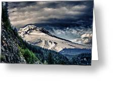 Mount Hood Dynamic Greeting Card by John Winner