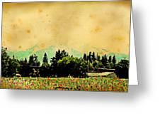 Mount Hood Greeting Card