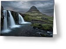 Mount Kirkjufell Iceland Greeting Card