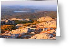 Mount Monadnock Summit View Greeting Card