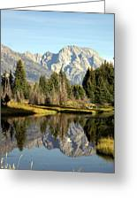 Mount Moran Reflections Greeting Card