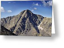 Mount Of The Holy Cross In The Sawatch Range Of The Colorado Rockies Greeting Card