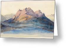 Mount Pilatus From Lake Lucerne, Switzerland Greeting Card
