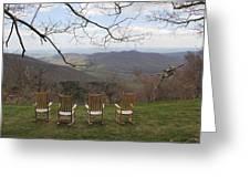 Mount Pisgah View Greeting Card