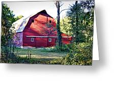 Mount Pleasant Road Barn Greeting Card