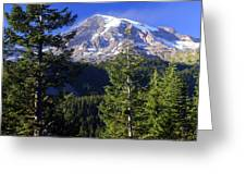Mount Raineer 1 Greeting Card
