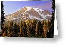 Mount Raineer 2 Greeting Card