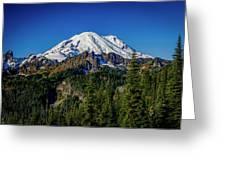 Mount Rainier - Eastside Greeting Card