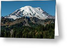 Mount Rainier - Cowilitz Chimneys  Greeting Card