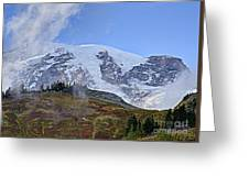 Mount Rainier 3 Greeting Card