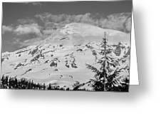 Mount Rainier Greeting Card