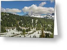 Mount Rainier National Park Tatoosh Range Greeting Card