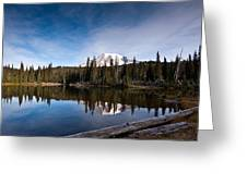 Mount Rainier Reflection Greeting Card