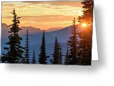 Mount Revelstoke Greeting Card