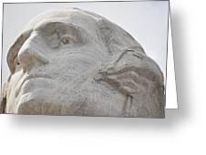 Mount Rushmore George Washington Greeting Card