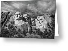 Mount Rushmore II Greeting Card