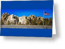 Mount Rushmore National Memorial Greeting Card