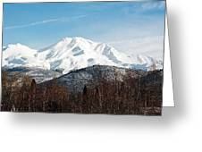 Mount Shasta Greeting Card