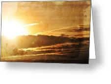 Mount Shasta Sunrise Greeting Card