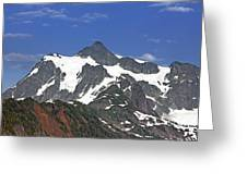 Mount Shuksan In The Cascade Mountains Greeting Card