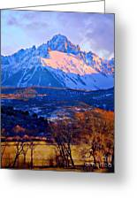 Mount Sneffels  Greeting Card