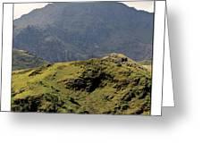 Mount Snowdon Greeting Card