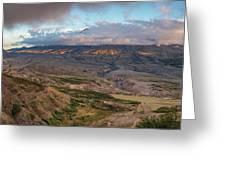 Mount St Helen Greeting Card