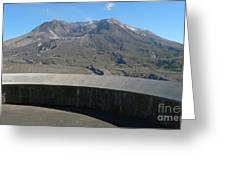 Mount St. Helen Memorial Greeting Card