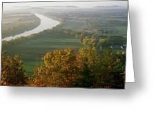 Mount Sugarloaf Autumn Morning Greeting Card