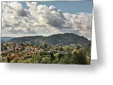Mount Talbert In Happy Valley Oregon Greeting Card