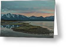 Mount Tallac At Sunset Greeting Card