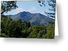 Mount Tamalpais Greeting Card