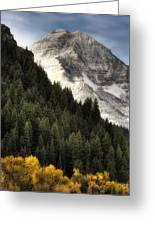 Mount Timpanogos 1 Greeting Card