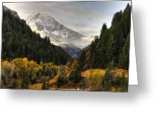 Mount Timpanogos 2 Greeting Card
