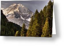 Mount Timpanogos 3 Greeting Card